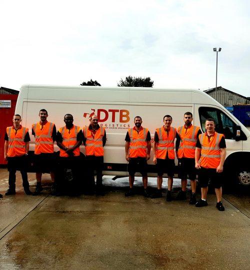 dtblogistics multi-drop courier team image
