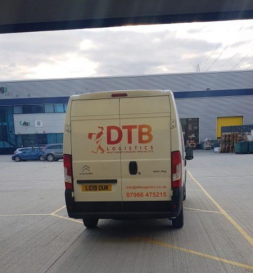dtb logistics multi-drop courier van image 10