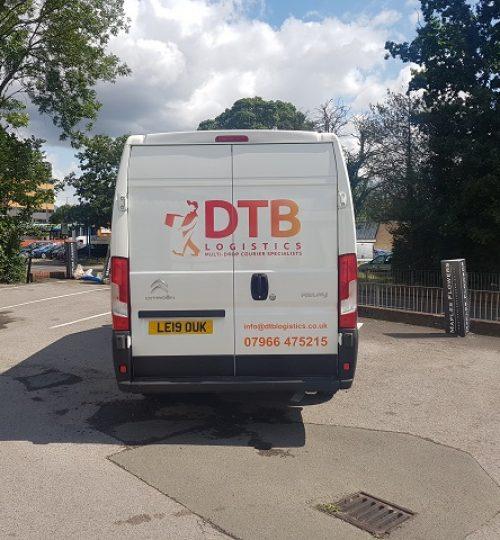 dtb logistics multi-drop courier van image 1