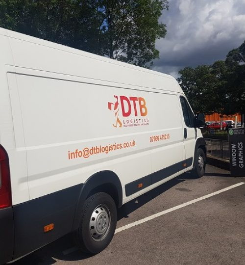 dtb logistics multi-drop courier van image 2