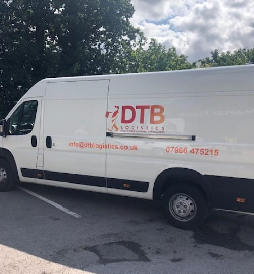 dtb logistics multi-drop courier van image 3