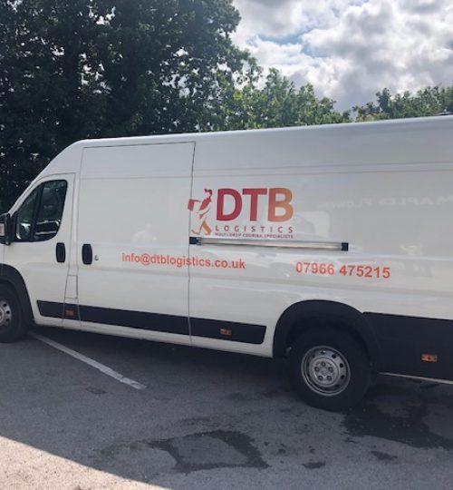 dtb logistics multi-drop courier van image 3