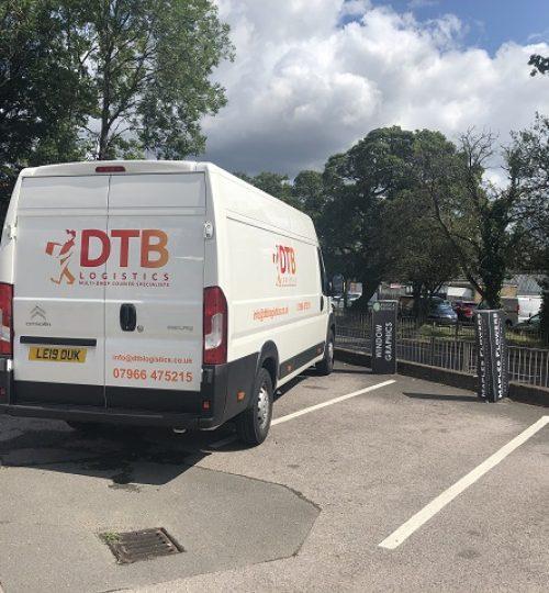 dtb logistics multi-drop courier van image 5