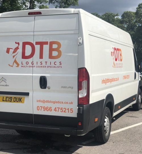 dtb logistics multi-drop courier van image 6