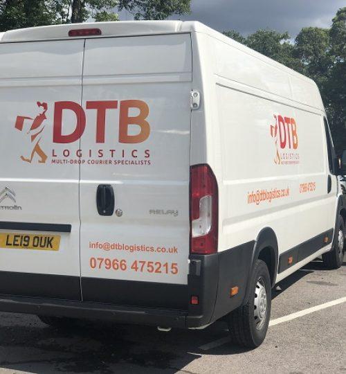 dtb logistics multi-drop courier van image 6