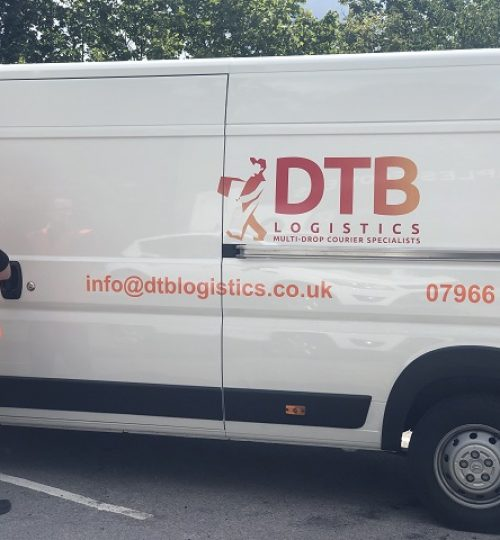 dtb logistics multi-drop courier van image 8