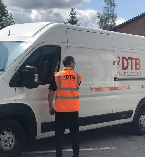 dtb logistics multi-drop courier van image 9